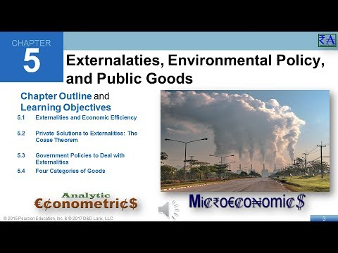 Microeconomics - Chapter 05: Externalities, Environmental Policy, and Public Goods