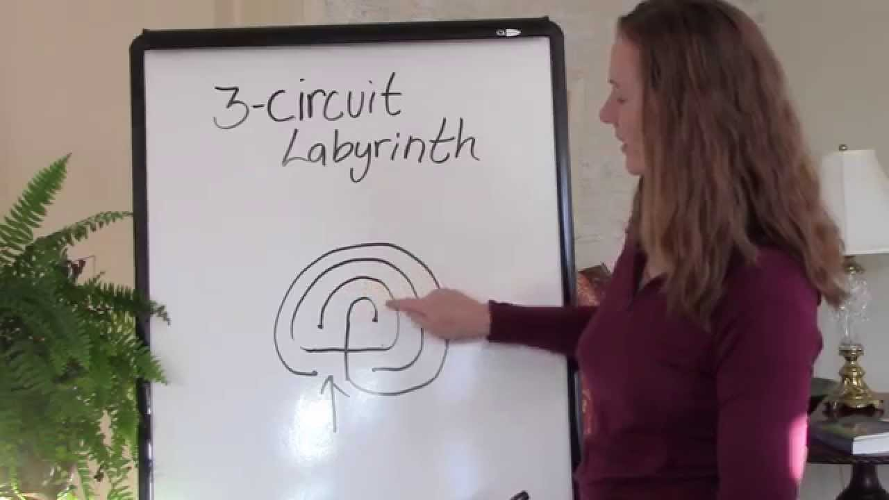 How To Draw A Three Circuit Labyrinth Youtube Classical From 5circuit Chartres