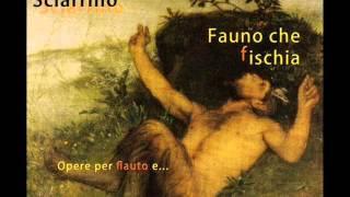 Salvatore Sciarrino - Toccata e Fuga in re minore, BWV 565 [flute]