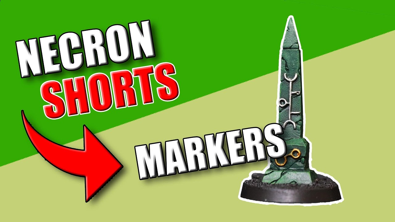 Necron 9th Edition Markers for Necron Secondaries #Shorts