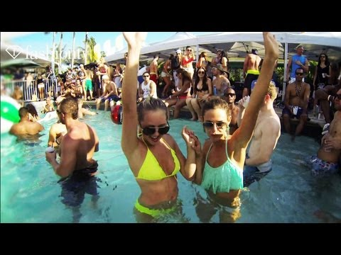 DJ Boris And Friends Party At Surfcomber Hotel In Miami | Winter Music Conference 2013 | FashionTV