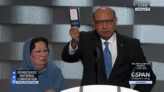 Khizr Khan FULL REMARKS at Democratic National Convention (C-SPAN)