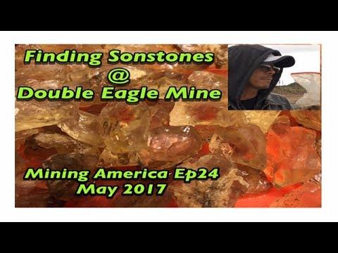 A Sunstone Machine Run @ Double Eagle Mine in Plush Oregon ( Mining America Ep25) May 2017
