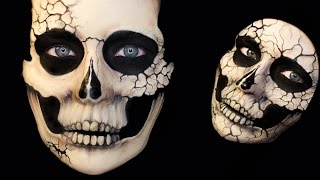 Beautiful Death Skull Series: Natural and Cracked Skulls (3-in-1 tutorial)