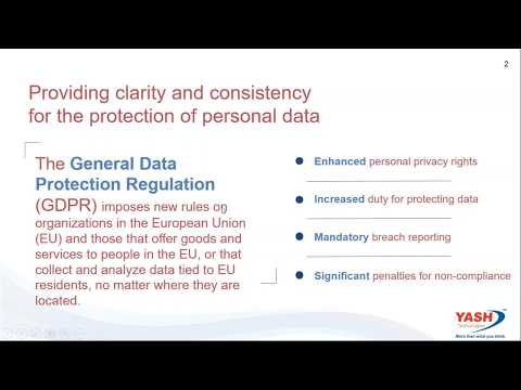 SAP solutions for GDPR   how to manage your compliance and data security