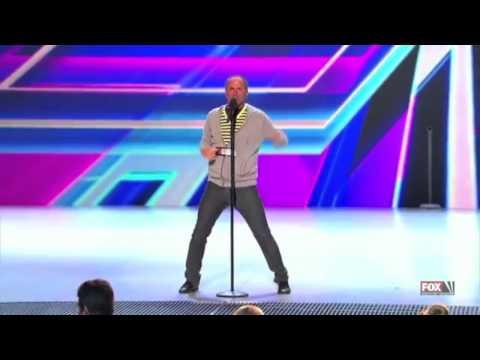 Candy Girl - Shawn Armenta  X Factor USA ( Funny Highlights )
