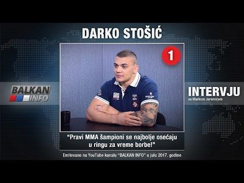 INTERVJU: Darko Stošić - Pravi MMA šampioni se najbolje osećaju u ringu za vreme borbe! (23.07.2017)