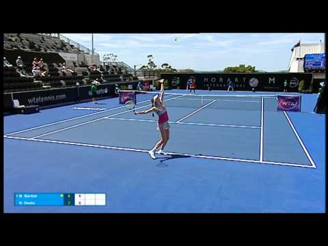 Mona Barthel vs Naomi Osaka - Match Highlights