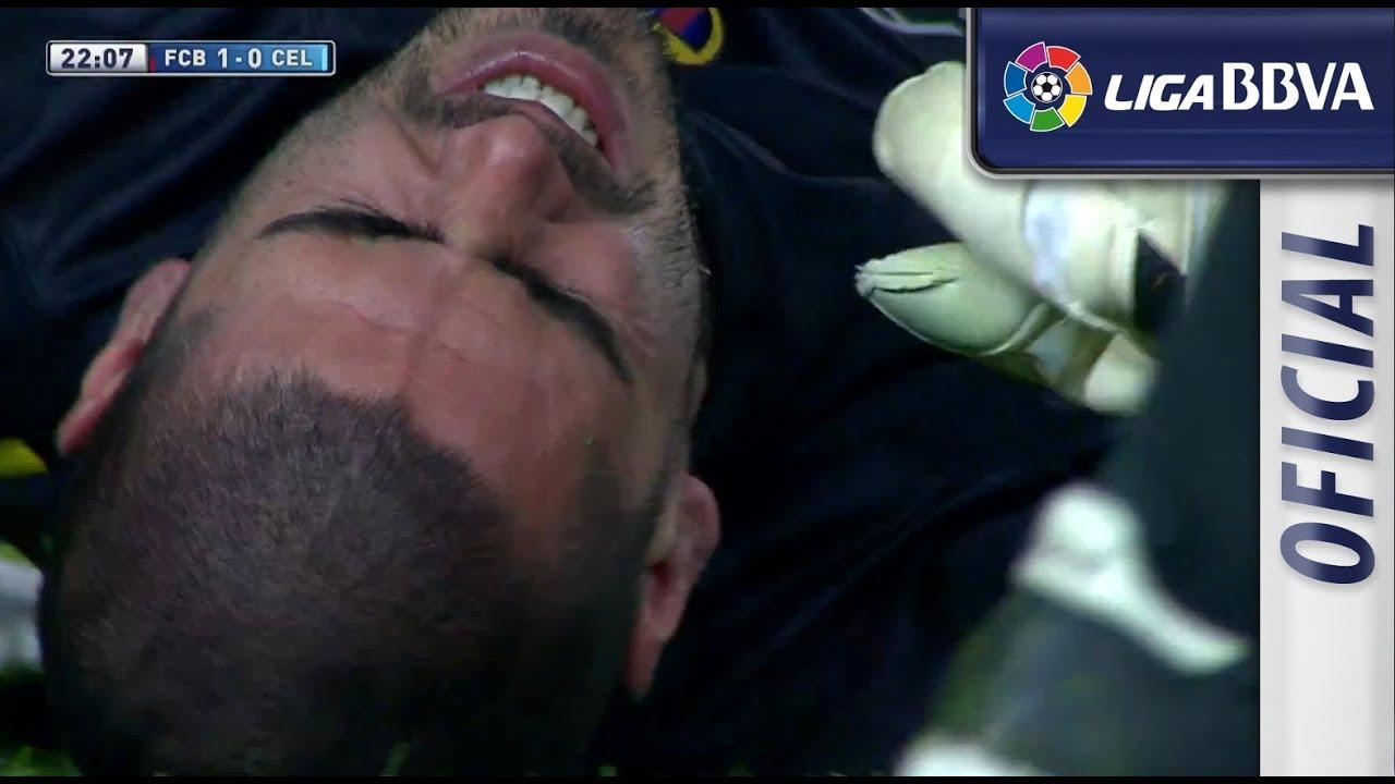 Photo of Lesión de rodilla | Knee injury de Víctor Valdés – سلتيك برشلونة – الرياضة