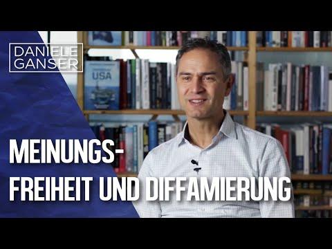 Dr. Daniele Ganser im Gespräch: Meinungsfreiheit und Diffamierung (Basel 28. Januar 2021)