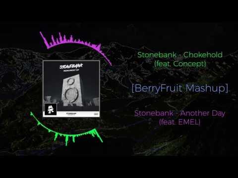 Stonebank - Chokehold (feat. Concept) VS Stonebank - Another Day (feat. EMEL) ~ [BerryFruit Mashup]
