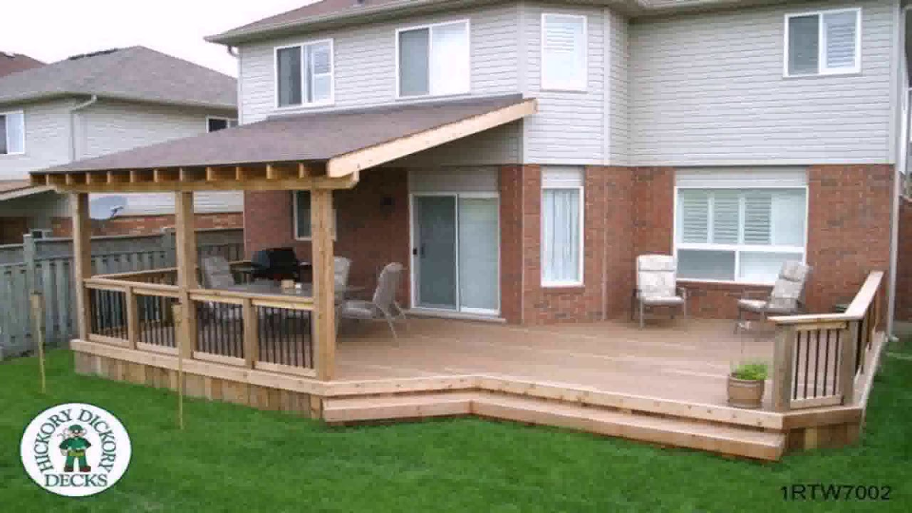 How To Build A Patio Cover On Deck