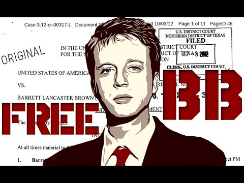 Barrett Brown Explains Why He Is In Prison For Doing His Job