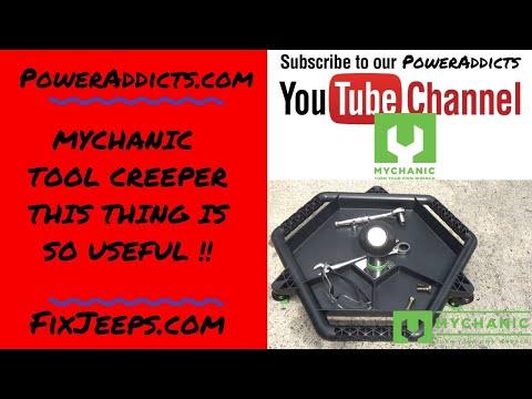 MYCHANIC Tool Creeper - You Need This! #toolcreeper #organizetools #whereisthat10mm