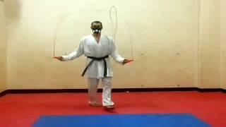 Training With Elevation Training Mask Part 1 - تمرين الوثب بالحبل بإستخدام قناع التدريب