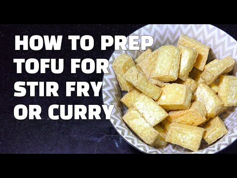 How to Prepare Tofu - Crispy Tofu Youtube - How to Cook Tofu