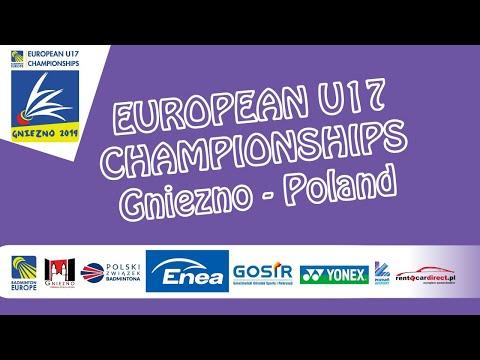 Barinov / Boiarun vs Boe / Nesic (XD, SF) - European U17 C'ships 2019