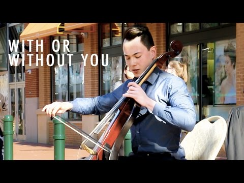 U2 - With Or Without You (LIVE Cello Cover) - eyeglasses