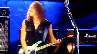 THE BIG 4 - Am I Evil (Metallica, Megadeth, Anthrax) Live Ullevi, Gothenburg, Sweden) 3 juli 2011