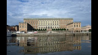 КОРОЛІВСЬКИЙ ПАЛАЦ У СТОКГОЛЬМІ. Kungliga slottet The Royal Palace