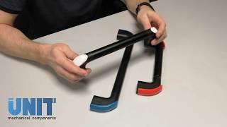 Фото Ручки для промышленного оборудования технической и лабораторной мебели