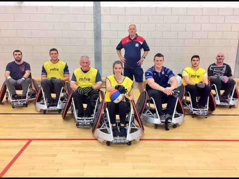 Community: Bristol Rugby duo try wheelchair rugby with Bristol Bears