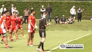 TONGA U18 Vs NZ Barbarian U18 28092017