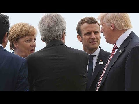 Trump clashes with world leaders on climate change issue