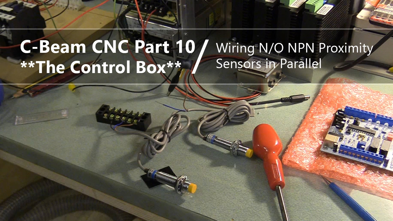 small resolution of  10 npn proximity limit sensors 10 cnc control box youtube