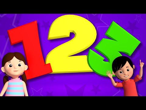 Numbers Song   Educational Nursery Rhymes   Learn Number