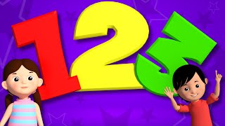 Numbers Song | Educational Nursery Rhymes | Learn Number | Videos For Toddlers by Kids Tv