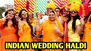 Indian Wedding Haldi Ceremony Vlog | Vlog | Indian Weddings Be Like