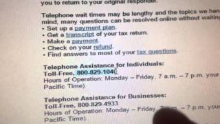 Your tax return is still being processed: Still Waiting For My IRS Refund after a Month. 2014 Return