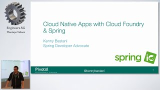 Building Cloud Native Applications with Cloud Foundry and Spring