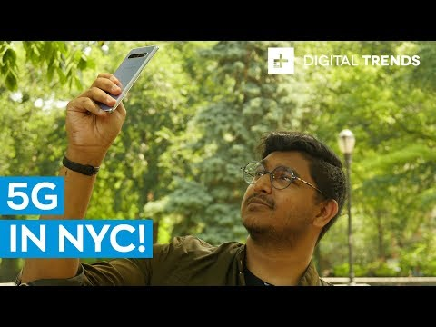 Galaxy S10 5G In NYC On T-Mobile's 5G Network | Tested