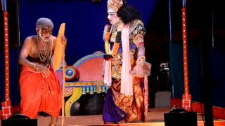 Yakshagana Rukmini Swayamvara 4Padya Ganapanna Rukmini Sharath Brahmana Seetharam Kateel Krishna Per