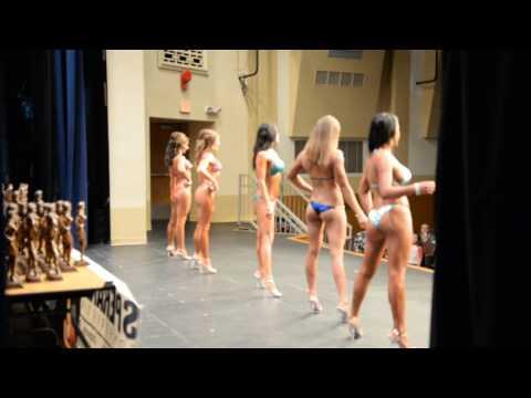 Bikini prejudging at the NGA Natural American Championships