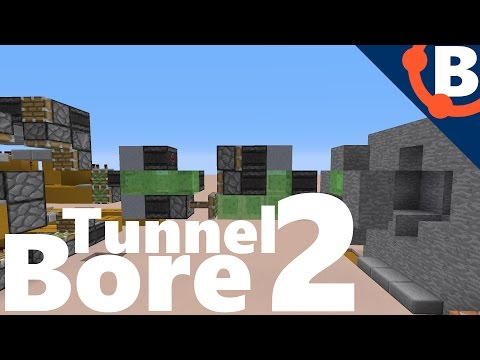 Automatic Tunnel Bore / Auto Miner [Tutorial] | Redstone 1.11.2