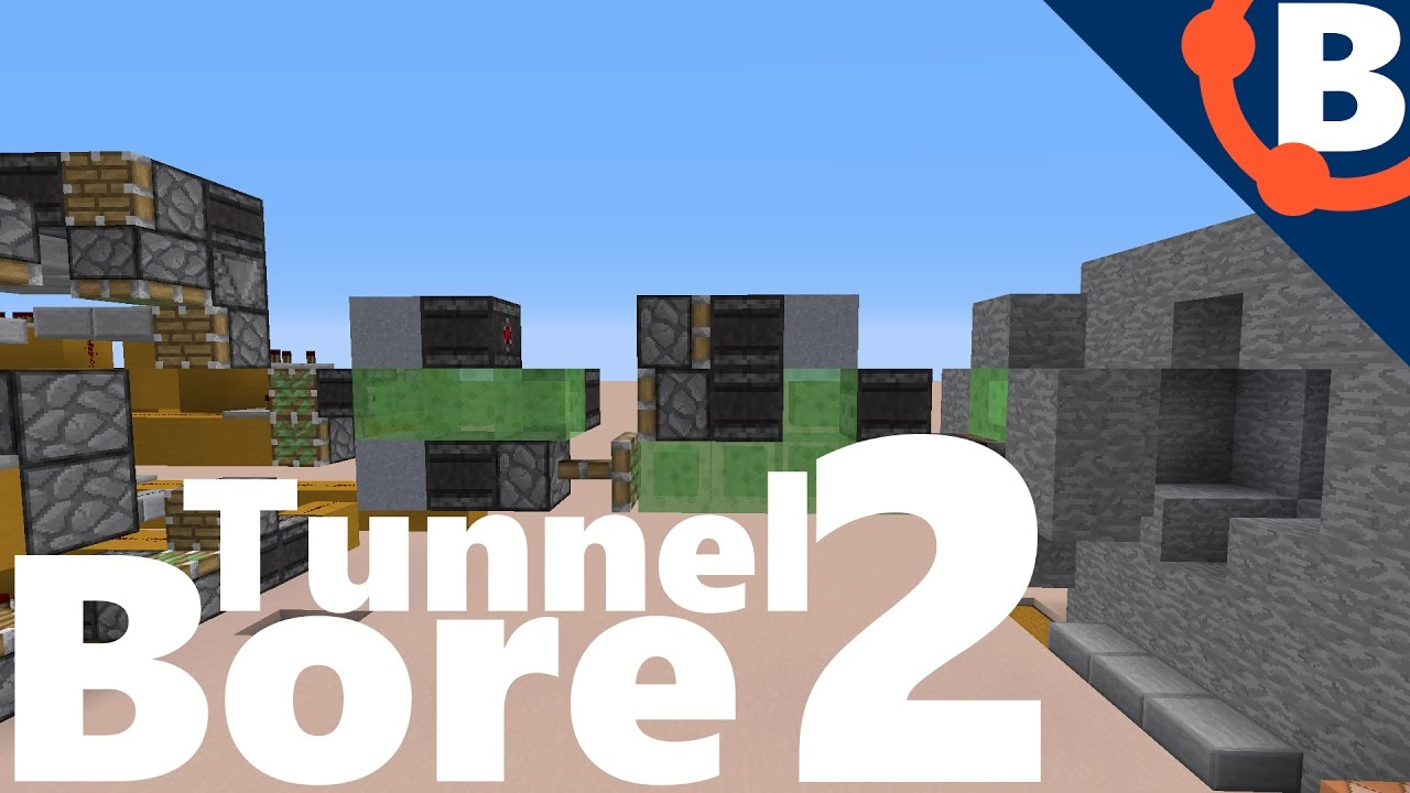 tunnel bore minecraft
