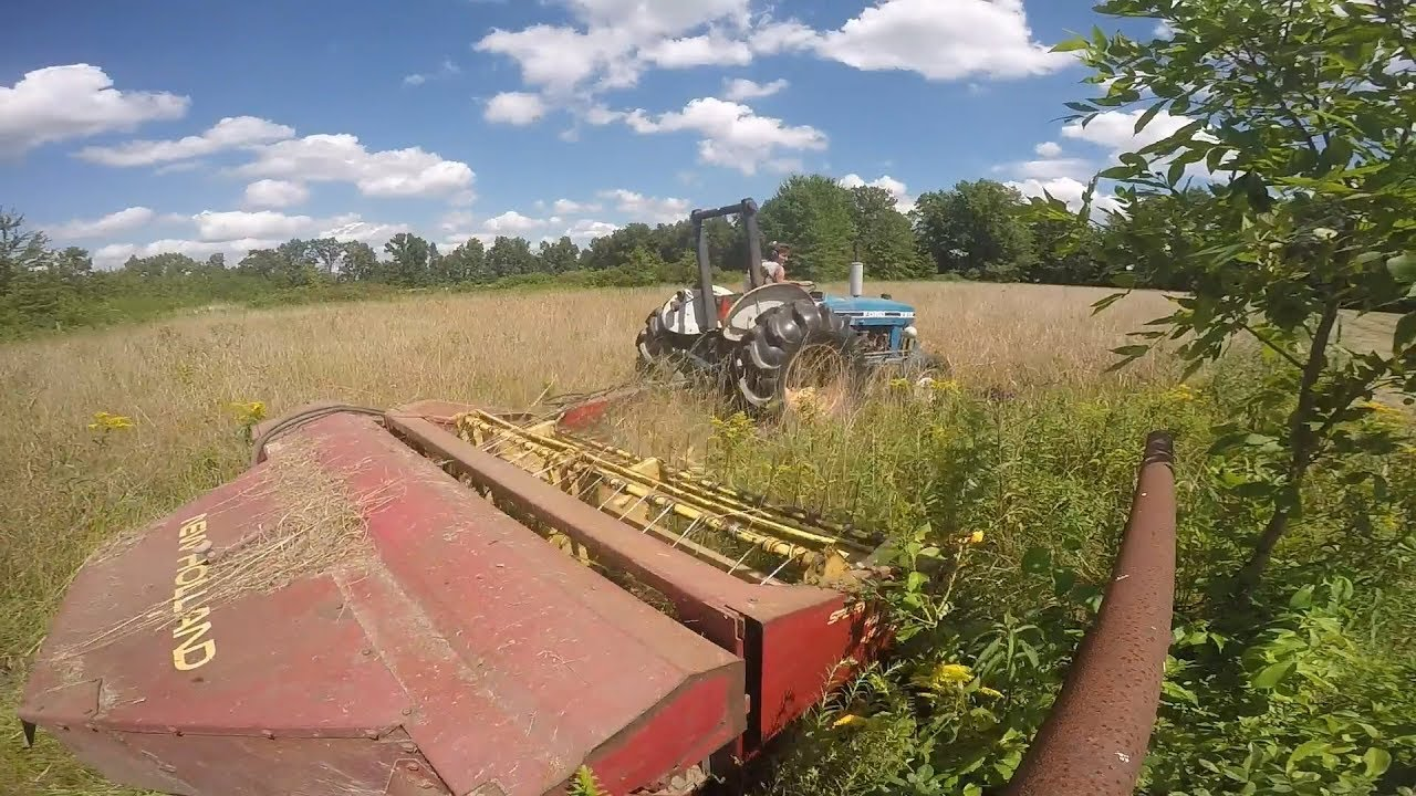 Mowing with new holland 474 haybine youtube mowing with new holland 474 haybine fandeluxe Choice Image