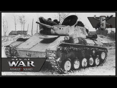 T-70 Winter Trench Assault 1942 - Valour Mod - MoW:AS 2