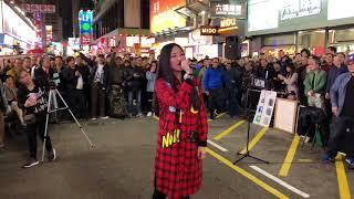 風雨同路「有史以來,全旺角唯一一個街頭藝人清唱仍吸引多人圍觀,風趣幽默的靚靚老師致以萬二分敬禮,再送上有音樂的版本感謝大家風雨同渡過!」(2018-01-28)香港街頭藝人及唱作音樂人彭梓嘉老師 thumbnail
