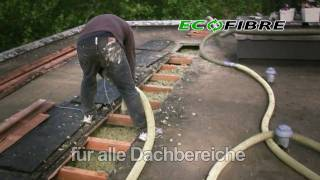 Einblasdämmung   ECOFIBRE Dämmstoffe GmbH - Paroc BLT 5 im Drempel(Eine kurze Demonstration der Einblaswolle Paroc BLT 5 im Dachbereich. Das Produkt Paroc BLT 5 eignet sich sowohl für den Einbau in einfache als auch ..., 2009-11-03T18:33:29.000Z)