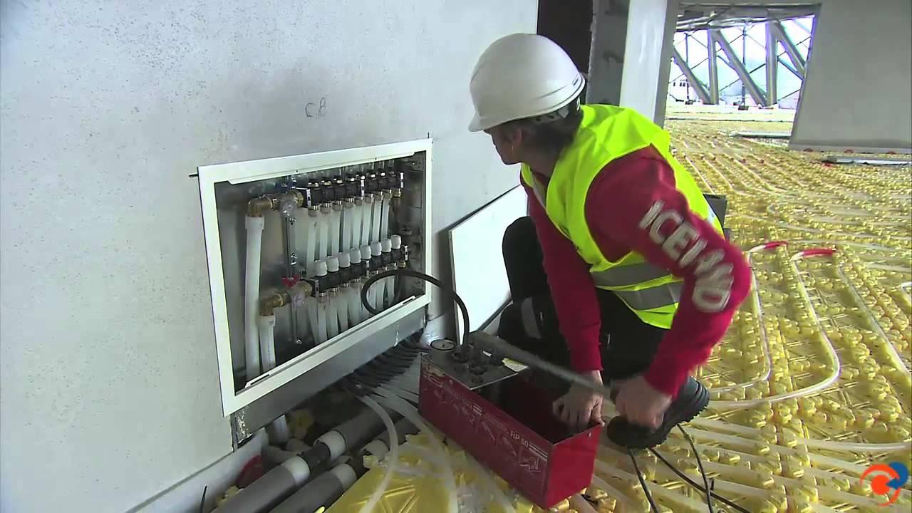Orkli expertos en suelo radiante refrescante youtube - Suelo radiante parquet ...