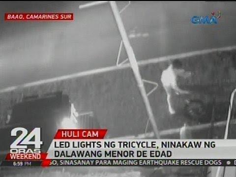 24 Oras: LED lights ng tricycle, ninakaw ng dalawang menor de edad