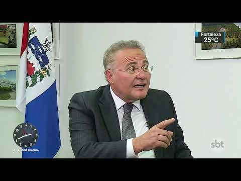 Papo de Bastidor entrevista o senador Renan Calheiros | SBT Notícias (15/09/17)