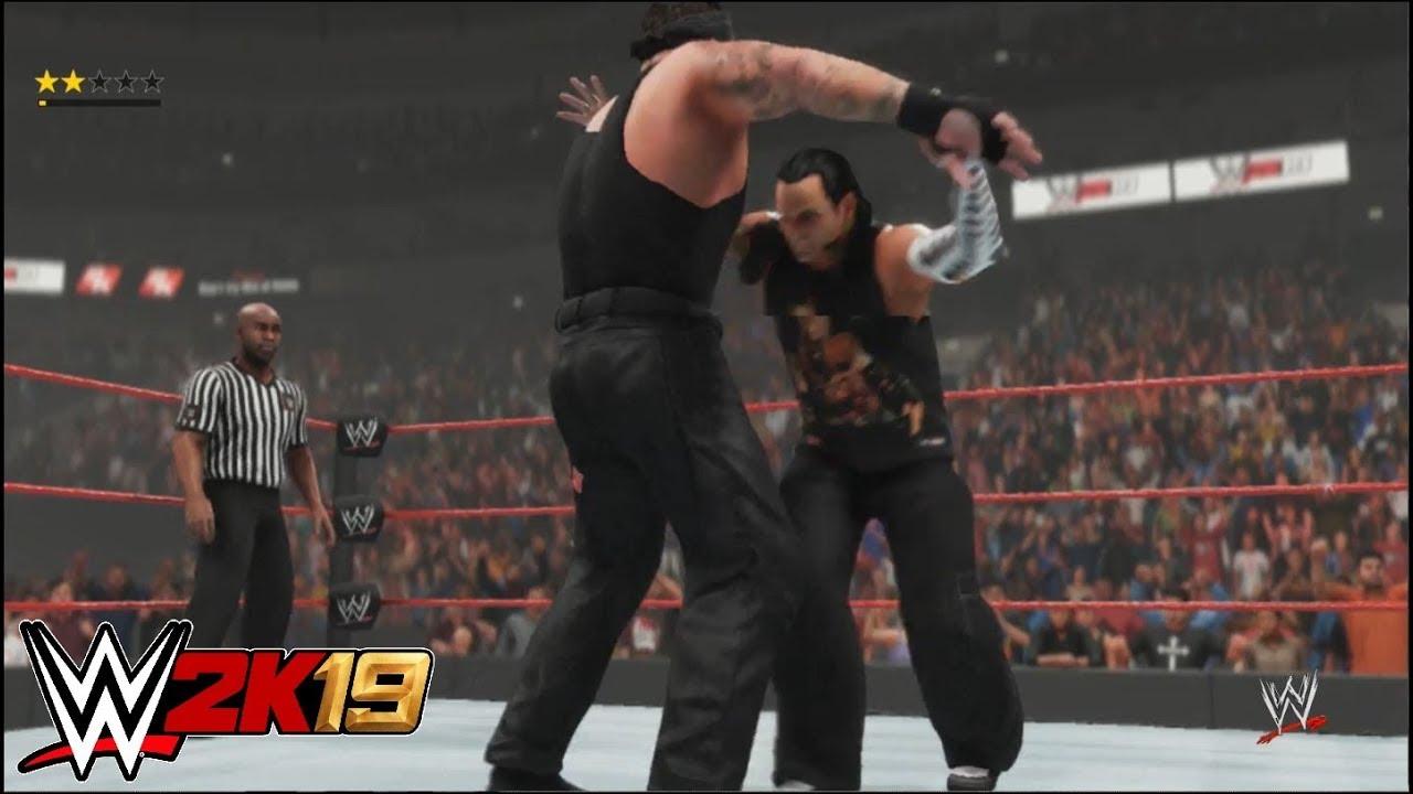 "WWE 2K19 - ""Big Evil"" Undertaker vs. Jeff Hardy   Raw"