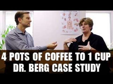 Dr. Eric Berg's Case Study - 4 Pots of Coffee to 1 Cup