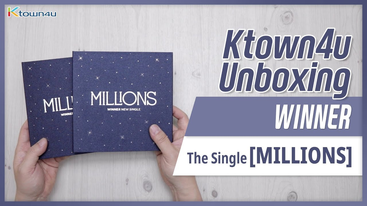 [Ktown4u Unboxing] WINNER - Single Album [MILLIONS] 위너 밀리언즈 언박싱 KPOP