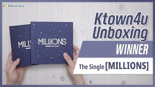 [Ktown4u Unboxing] WINNER - Single Album [MILLIONS] 위너 밀리언즈 …